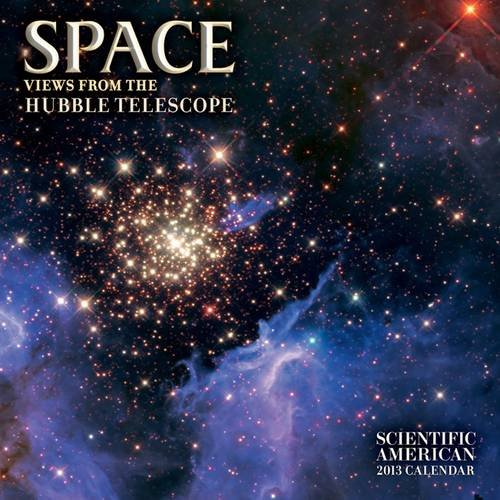 9780764960543: Space 2013 Calendar: Views from the Hubble Telescope