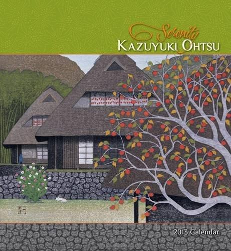 9780764961182: Serenity Kazuyuki Ohtsu Calendar 2013