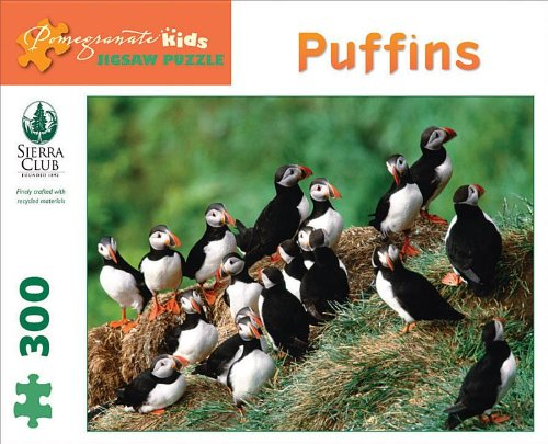 9780764961687: Puffins 300-Piece Jigsaw Puzzle