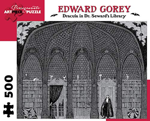 9780764961939: Dracula in Dr. Seward's Library 500-Piece Jigsaw Puzzle