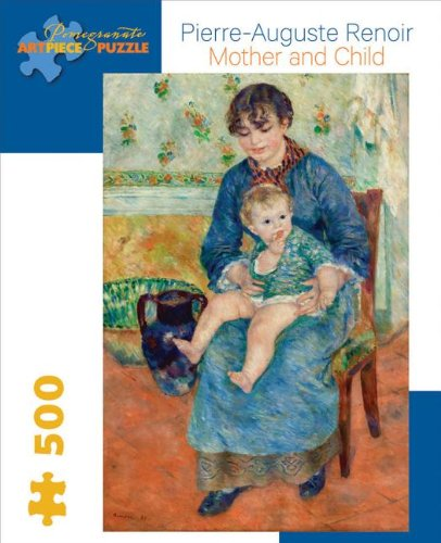 9780764961946: Pierre Auguste Renoir - Mother and Child: 500 Piece Puzzle