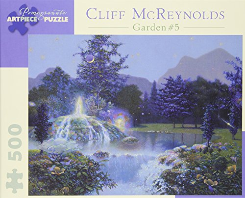 9780764961953: Cliff Mcreynolds - Garden Fountain: 500 Piece Puzzle