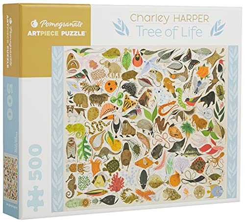 9780764961960: Charley Harper Tree of Life 500-Piece Jigsaw Puzzle Aa708 (Pomegranate Artpiece Puzzle)