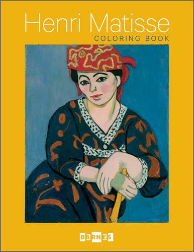9780764962158: Henri Matisse: The Barnes Foundation Coloring Books