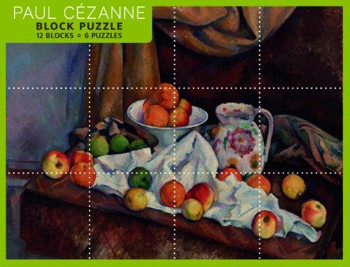 9780764962189: Paul Cezanne Block Puzzle: 12 Blocks / 6 Puzzles