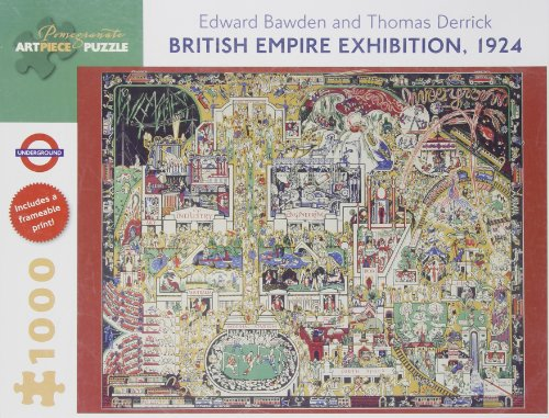9780764962752: British Empire Exhibition 1924: 1,000 Piece Puzzle