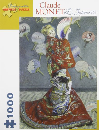 9780764962844: Claude Monet - La Japonaise: 1,000 Piece Puzzle