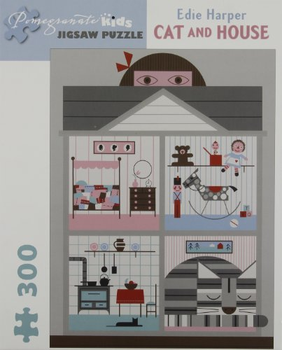9780764962967: Cat and House 300-Piece Jigsaw Puzzle Jk020