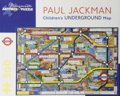 9780764963001: Childrens Underground Map: 500 Piece Puzzle