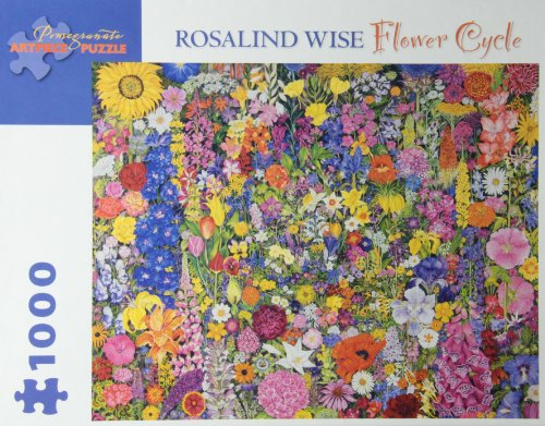 9780764963278: Rosalind Wise - Flower Cycle: 1,000 Piece Puzzle