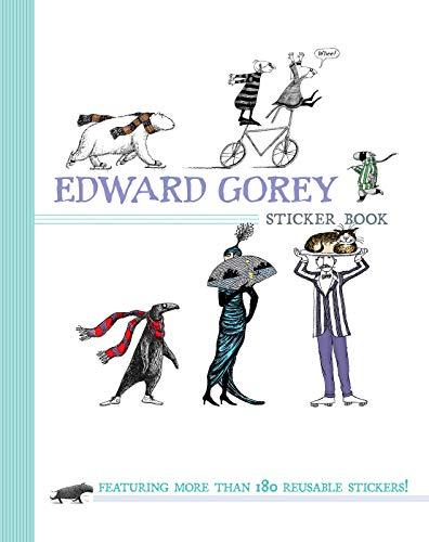 9780764963438: Edward Gorey Sticker Book