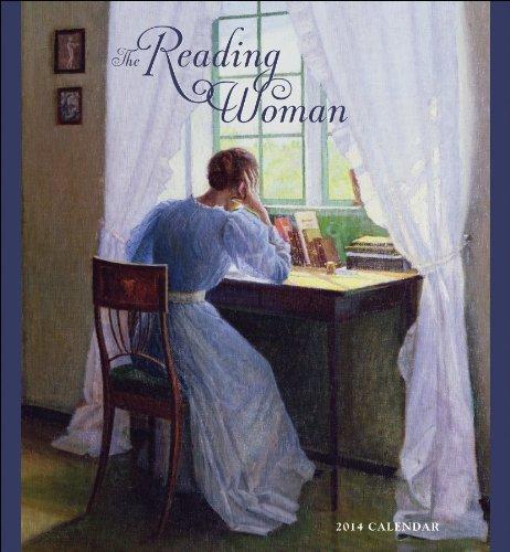 9780764963605: The Reading Woman 2014 Calendar
