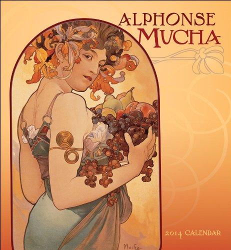 9780764963674: Alphonse Mucha 2014 Calendar