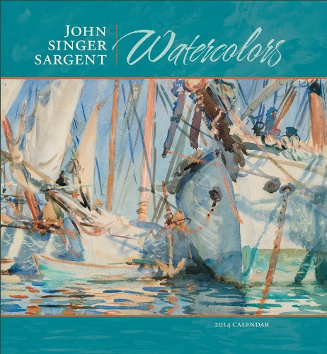 Watercolors 2014 Calendar (9780764963728) by [???]