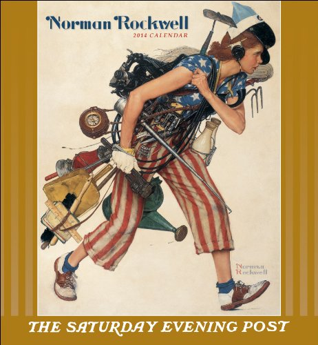 9780764963797: Norman Rockwell 2014 Calendar: The Saturday Evening Post