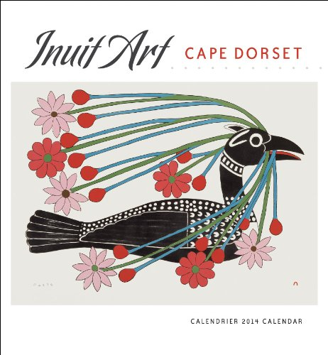9780764963834: Inuit Art Cape Dorset 2014 Calendar