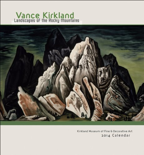 9780764963926: Vance Kirkland Landscapes of the Rocky Mountains 2014 Calendar