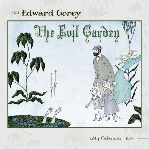 9780764963940: The Evil Garden 2014 Calendar