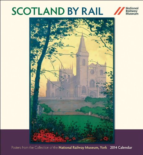 9780764964046: Scotland by Rail 2014 Calendar