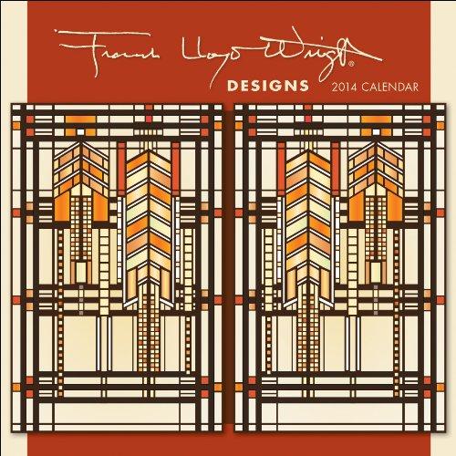 9780764964299: Frank Lloyd Wright Designs Mini Calendar 2014