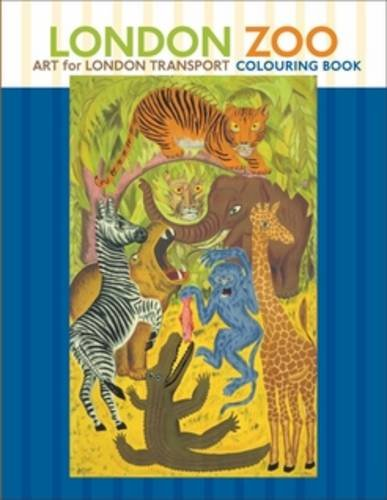 9780764964732: London Zoo: Art for London Transport Coloring Book