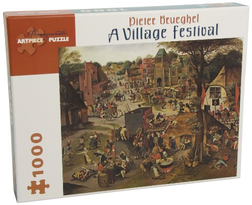 9780764964817: Village Festival 1000 Piece Puzzle (Pomegranate Artpiece Puzzle)