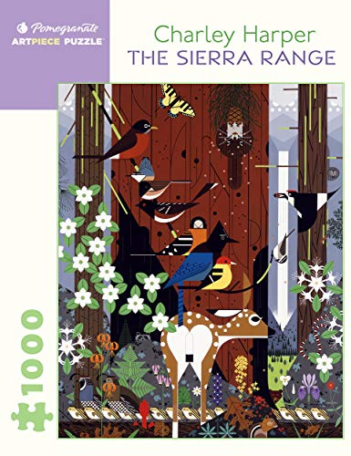 9780764965098: Charley Harper: The Sierra Range 1,000-Piece Jigsaw Puzzle (Pomegranate Artpiece Puzzle)