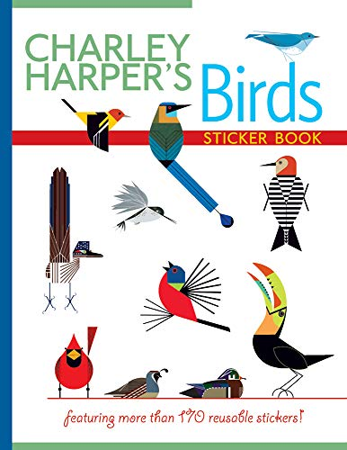 9780764965135: Charley Harper's Birds Sticker Book