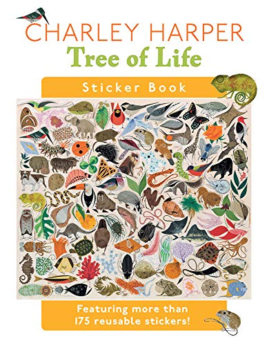 9780764965142: Charley Harper Tree of Life Sticker Book