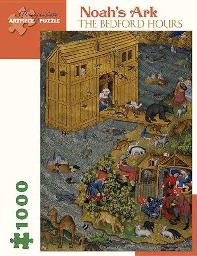 9780764965623: Noah's Ark Bedford Hours: 1,000 Piece Puzzle (Pomegranate Artpiece Puzzle)