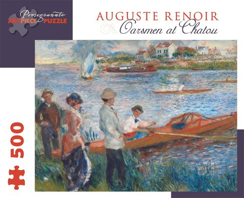 9780764965760: 500-Piece Puzzle Renoir/Oarsmen at Chatou