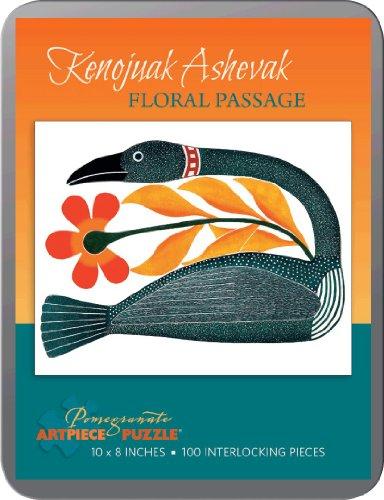 Floral Passage 100piece Kenojuak Ashevak