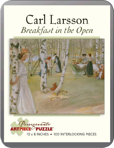 9780764965944: Carl Larsson - Breakfast in the Open: 100 Piece Puzzle