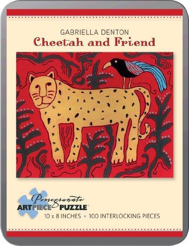 9780764965968: Gabriella Denton - Cheetah and Friend: 100 Piece Puzzle