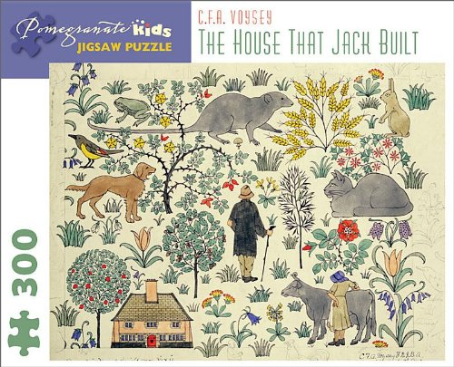 The House That Jack Built: C. F. A. Voysey 300-Piece Jigsaw Puzzle (Pomegranate Kids Jigsaw Puzzle)...