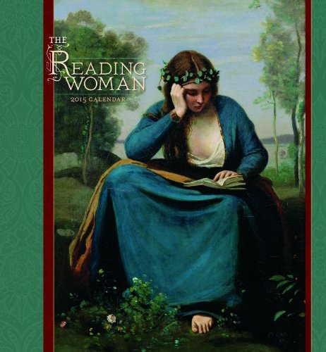 9780764966262: 2015 the Reading Woman Wall Calendar