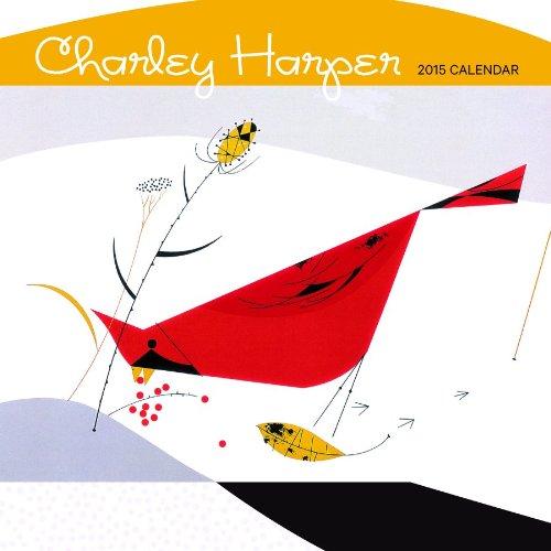 9780764966323: Charley Harper 2015 Mini Wall Calendar