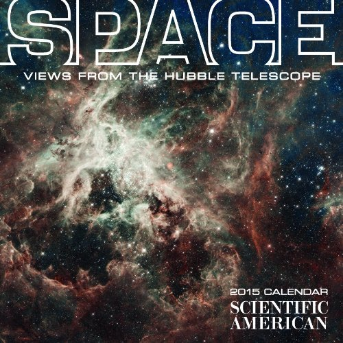 9780764966491: Space 2015 Calendar: Views from the Hubble Telescope