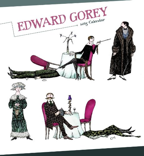 9780764966637: Edward Gorey 2015 Calendar