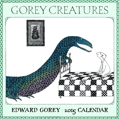 9780764966712: 2015 Gorey Creatures Mini Wall Calendar