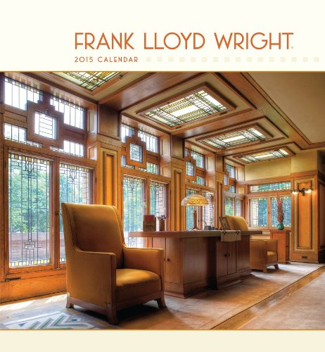 9780764966781: Frank Lloyd Wright 2015 Wall Calendar