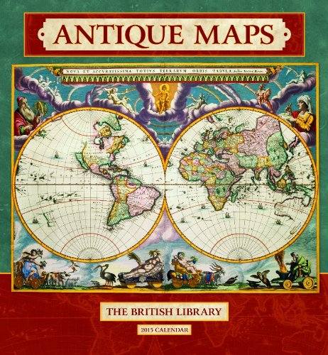 9780764966804: 2015 Antique Maps Wall Calendar