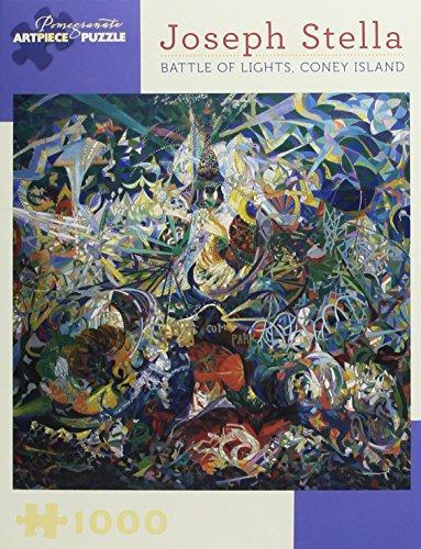 9780764967023: Joseph Stella - Battle of Lights, Coney Island: 1,000 Piece Puzzle (Pomegranate Artpiece Puzzle)