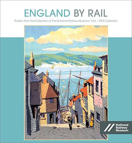 9780764967252: England by Rail 2015 Calendar