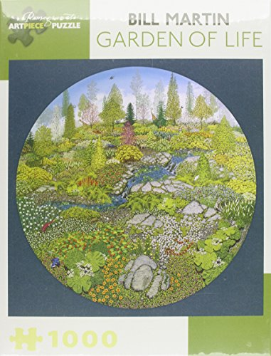 9780764967290: Bill Martin Garden of Life 1000-Piece Jigsaw Puzzle Aa810