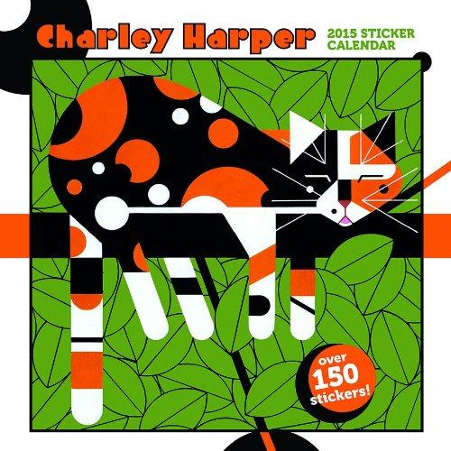9780764967412: Charley Harper 2015 Sticker Calendar