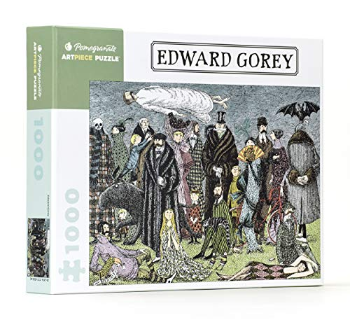 9780764967733: Edward Gorey 1,000-Piece Jigsaw Puzzle (Pomegranate Artpiece Puzzle)