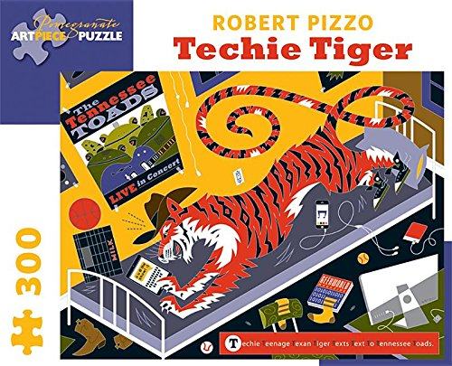 9780764967900: Robert Pizzo - Techie Tiger: 300 Piece Puzzle (Pomegranate Artpiece Puzzle)