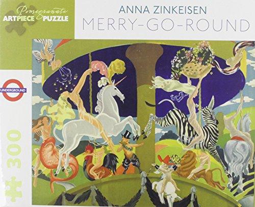 9780764968778: Anna Zinkeisen Merry-go-round 300-piece Jigsaw Puzzle