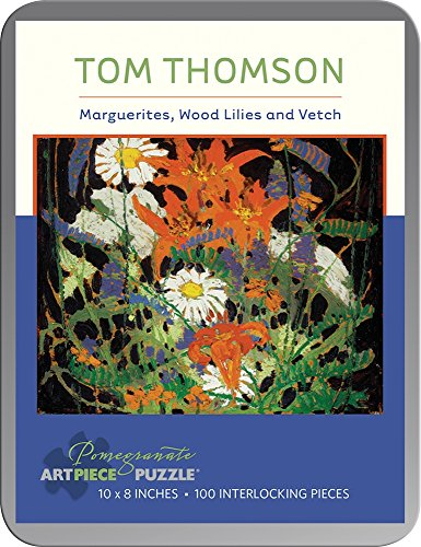 9780764969263: Tom Thomson: Marguerites, Wood Lilies and Vetch 100-piece Jigsaw Puzzle